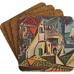 Mediterranean Landscape by Pablo Picasso Coaster Set