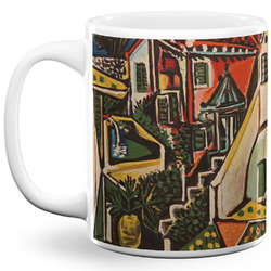 Mediterranean Landscape by Pablo Picasso 11 Oz Coffee Mug - White