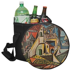 Mediterranean Landscape by Pablo Picasso Collapsible Cooler & Seat