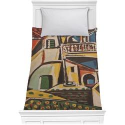 Mediterranean Landscape by Pablo Picasso Comforter - Twin