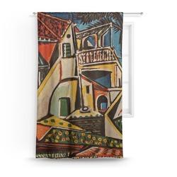 Mediterranean Landscape by Pablo Picasso Curtain