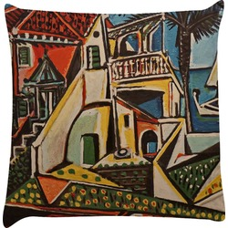 Mediterranean Landscape by Pablo Picasso Decorative Pillow Case