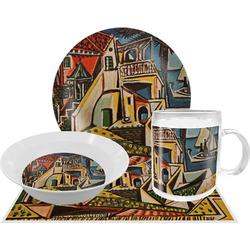 Mediterranean Landscape by Pablo Picasso Dinner Set - 4 Pc