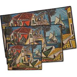 Mediterranean Landscape by Pablo Picasso Door Mat