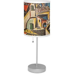 "Mediterranean Landscape by Pablo Picasso 7"" Drum Lamp with Shade"
