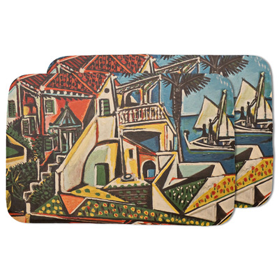 Mediterranean Landscape by Pablo Picasso Dish Drying Mat