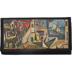 Mediterranean Landscape by Pablo Picasso Canvas Checkbook Cover