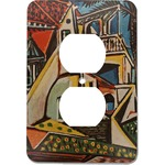 Mediterranean Landscape by Pablo Picasso Electric Outlet Plate
