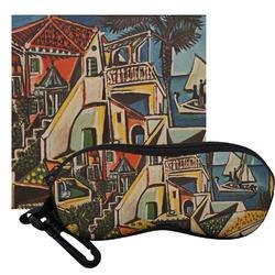 Mediterranean Landscape by Pablo Picasso Eyeglass Case & Cloth