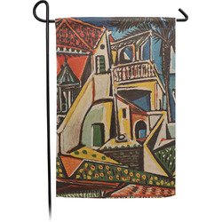 Mediterranean Landscape by Pablo Picasso Garden Flag - Single or Double Sided