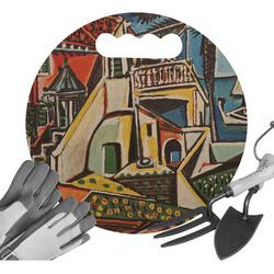 Mediterranean Landscape by Pablo Picasso Gardening Knee Cushion