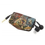 Mediterranean Landscape by Pablo Picasso Genuine Leather Cord Wrap