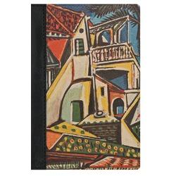 Mediterranean Landscape by Pablo Picasso Genuine Leather Passport Cover