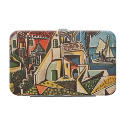 Mediterranean Landscape by Pablo Picasso Genuine Leather Small Framed Wallet