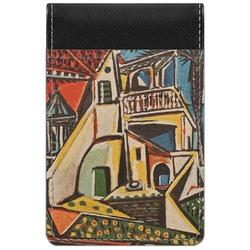 Mediterranean Landscape by Pablo Picasso Genuine Leather Small Memo Pad