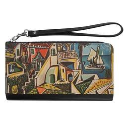 Mediterranean Landscape by Pablo Picasso Genuine Leather Smartphone Wrist Wallet