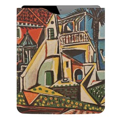 Mediterranean Landscape by Pablo Picasso Genuine Leather iPad Sleeve