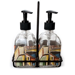 Mediterranean Landscape by Pablo Picasso Soap & Lotion Dispenser Set (Glass)