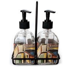 Mediterranean Landscape by Pablo Picasso Soap/Lotion Dispensers (Glass)