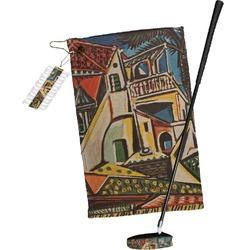 Mediterranean Landscape by Pablo Picasso Golf Towel Gift Set