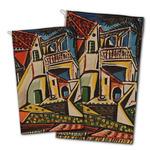 Mediterranean Landscape by Pablo Picasso Golf Towel - Full Print