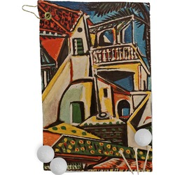 Mediterranean Landscape by Pablo Picasso Golf Towel - Full Print