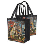 Mediterranean Landscape by Pablo Picasso Grocery Bag