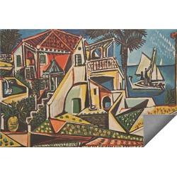 Mediterranean Landscape by Pablo Picasso Indoor / Outdoor Rug