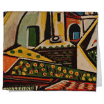 Mediterranean Landscape by Pablo Picasso Kitchen Towel - Full Print
