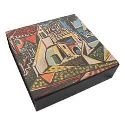 Mediterranean Landscape by Pablo Picasso Leatherette Keepsake Box - 3 Sizes