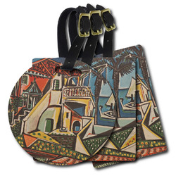 Mediterranean Landscape by Pablo Picasso Plastic Luggage Tags