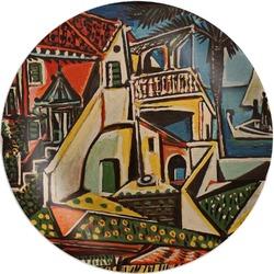 Mediterranean Landscape by Pablo Picasso Melamine Plate