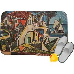 "Mediterranean Landscape by Pablo Picasso Memory Foam Bath Mat - 34""x21"""