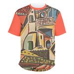 Mediterranean Landscape by Pablo Picasso Men's Crew T-Shirt