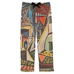 Mediterranean Landscape by Pablo Picasso Mens Pajama Pants