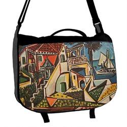 Mediterranean Landscape by Pablo Picasso Messenger Bag