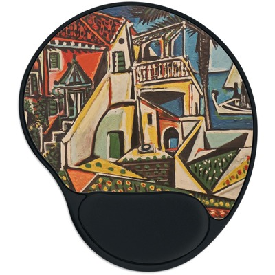 Mediterranean Landscape by Pablo Picasso Mouse Pad with Wrist Support