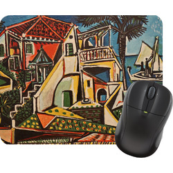 Mediterranean Landscape by Pablo Picasso Rectangular Mouse Pad