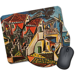 Mediterranean Landscape by Pablo Picasso Mouse Pads