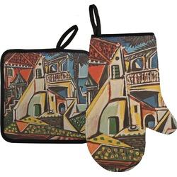 Mediterranean Landscape by Pablo Picasso Oven Mitt & Pot Holder