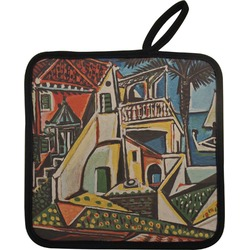 Mediterranean Landscape by Pablo Picasso Pot Holder