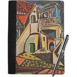 Mediterranean Landscape by Pablo Picasso Notebook Padfolio
