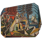Mediterranean Landscape by Pablo Picasso Dining Table Mat - Octagon