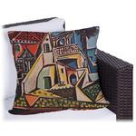 Mediterranean Landscape by Pablo Picasso Outdoor Pillow