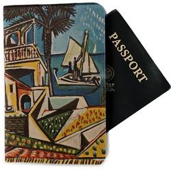 Mediterranean Landscape by Pablo Picasso Passport Holder - Fabric