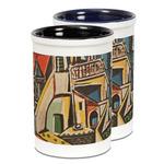 Mediterranean Landscape by Pablo Picasso Ceramic Pencil Holder - Large