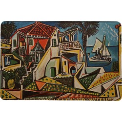 Mediterranean Landscape by Pablo Picasso Comfort Mat