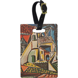 Mediterranean Landscape by Pablo Picasso Rectangular Luggage Tag
