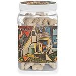 Mediterranean Landscape by Pablo Picasso Dog Treat Jar