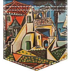 Mediterranean Landscape by Pablo Picasso Iron On Faux Pocket